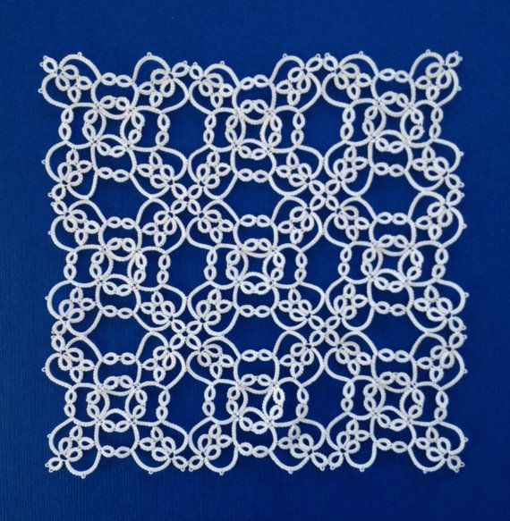 PDF Tatting Pattern: Garden Cross and Square | Celta, Inspiración y ...