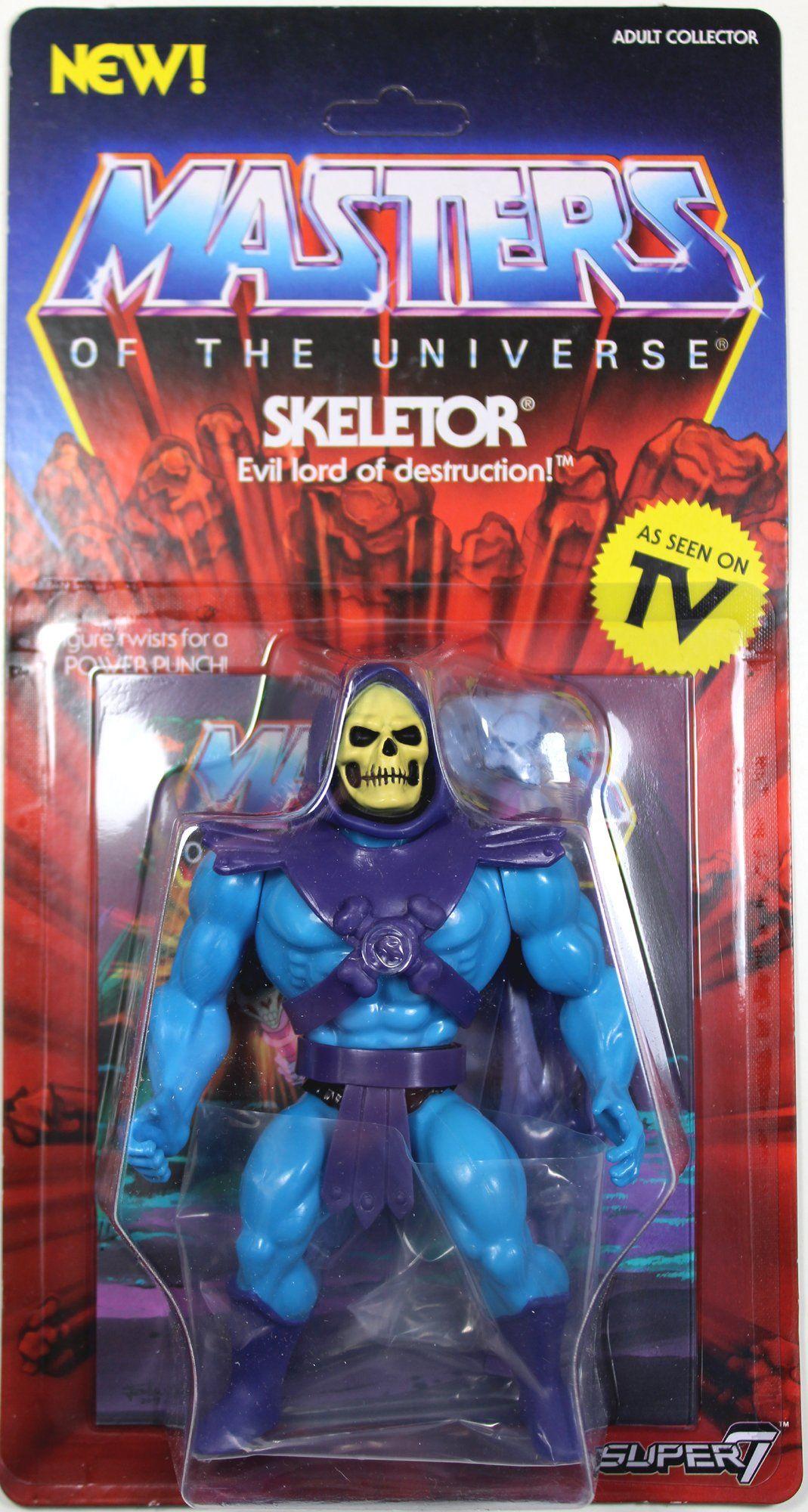 Masters of the universe vintage motu figure stands display toy heman saurod