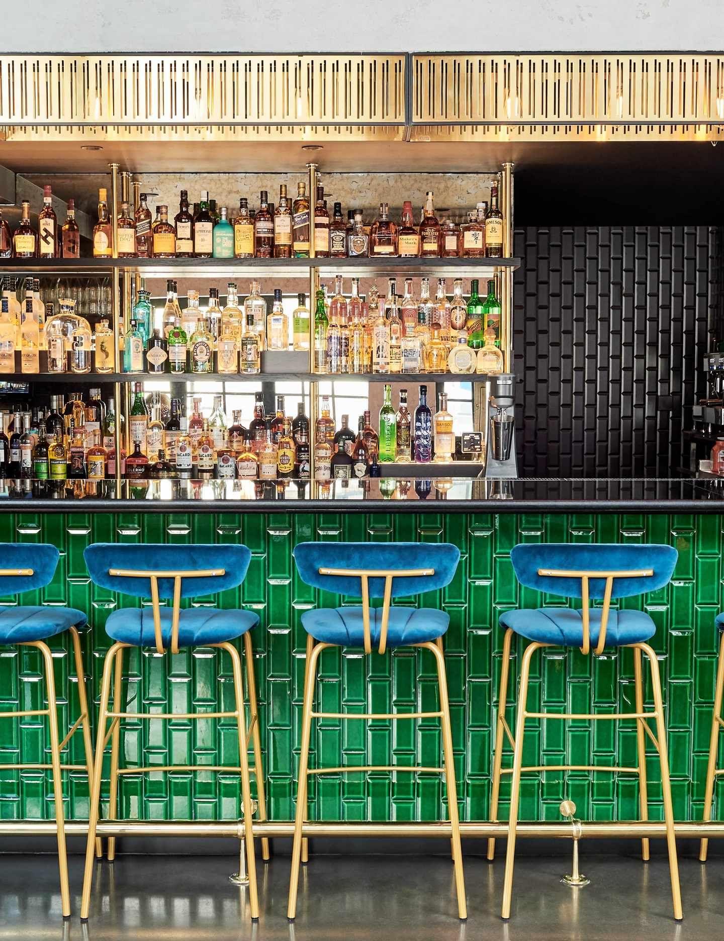 Green Room At The Curtain London Ec2 Hotel Bar Review Hotel Bar Design Hotel Bar Green Rooms