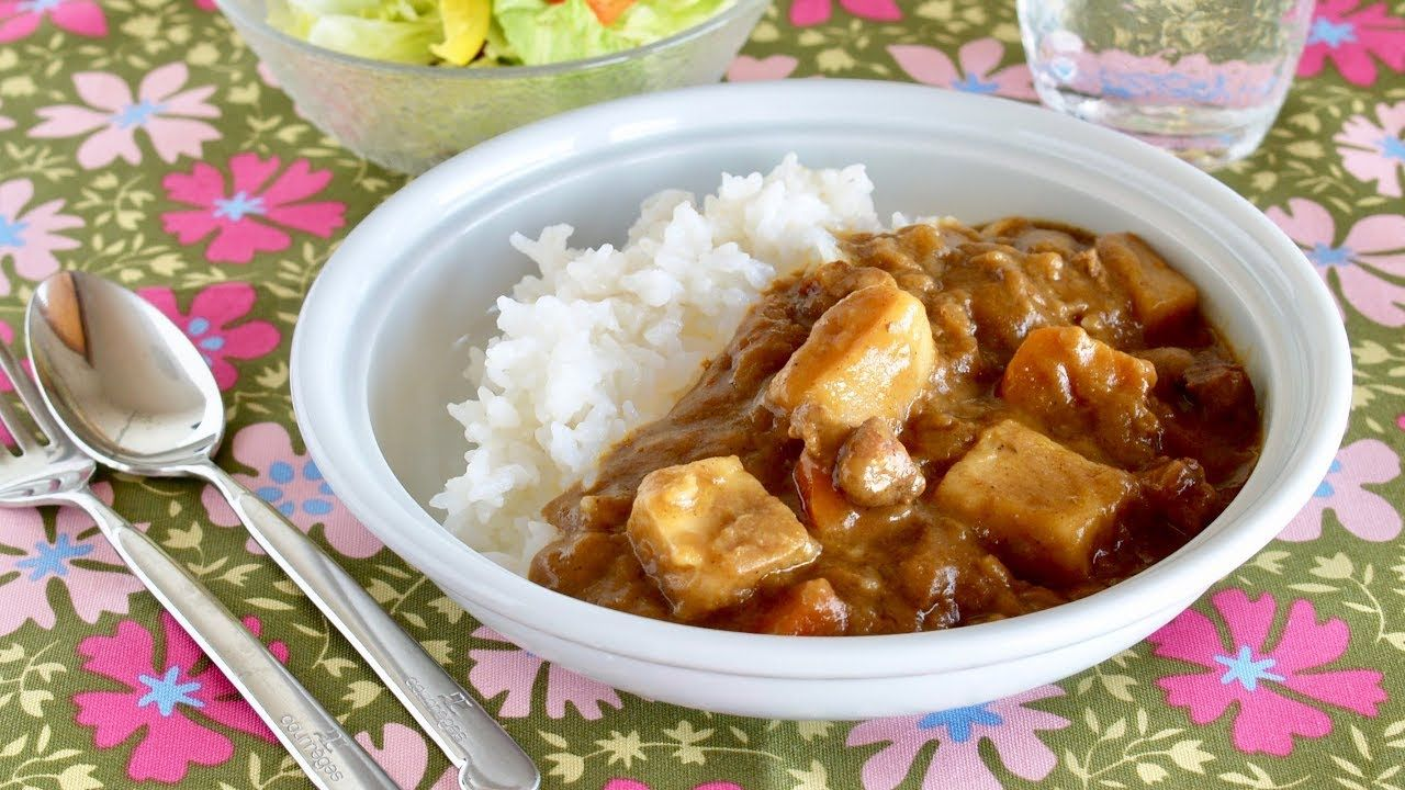 How To Make Basic Japanese Curry And Rice Vermont Curry Recipe Ochik In 2020 Curry Recipes Japanese Curry Curry Rice