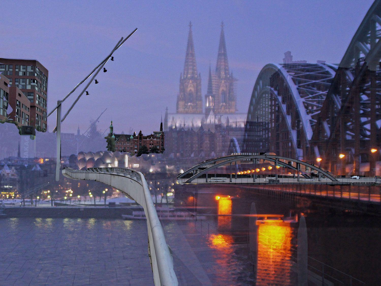 Hamburg ist grüner als Köln? Das kann man nicht so einfach sagen. Lest dazu meinen Artikel auf Op jück.