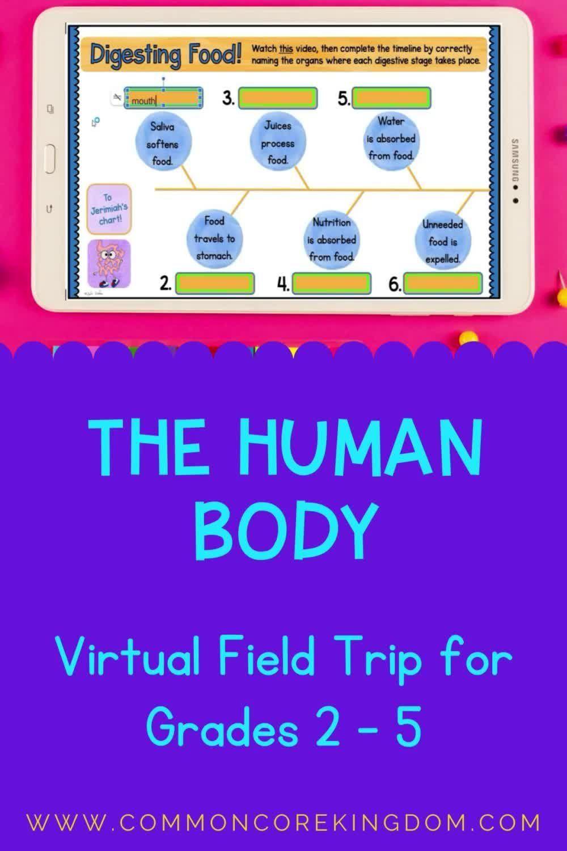 24+ Virtual Field Trip through the Human Body – Google Slides & Seesaw
