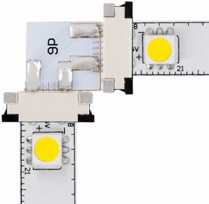 Led Strip Lights 90 Degree Corner Connector Strip Lighting Led Strip Lighting Installing Led Strip Lights