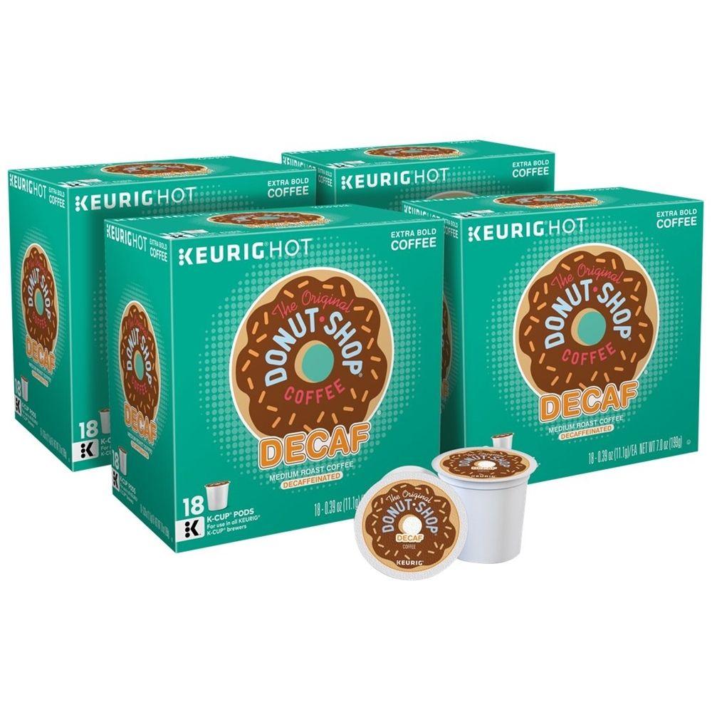 The Original Donut Shop Decaf KCup Pods (4Pack