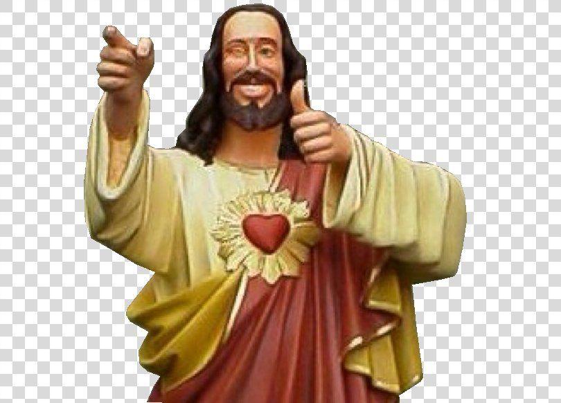 Jesus Dogma Buddy Christ Thumb Signal Jesus Christ Png Jesus Buddy Christ Dogma Figurine Film Buddy Christ Jesus Dogma