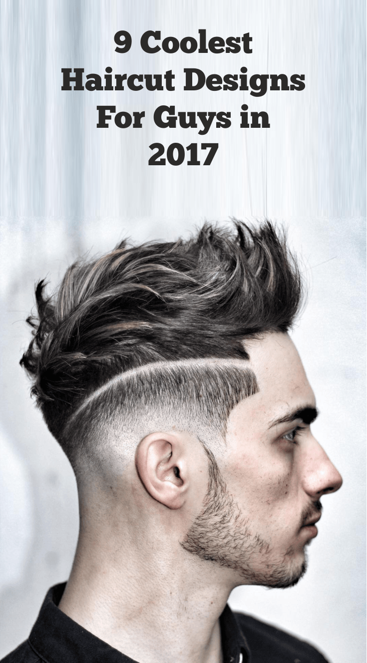 9 coolest haircut design guys
