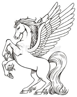 Pin By Jackie Leavitt Grana On Art Pegasus Unicorn Coloring Pages Horse Coloring Pages Horse Coloring