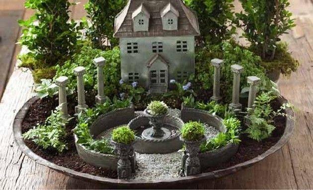 11 Beautiful DIY Fairy Gardens Diy fairy garden Fairy and Gardens