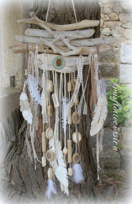 Driftwood hanging crafts pinterest driftwood dream for Chandelier bois flotte