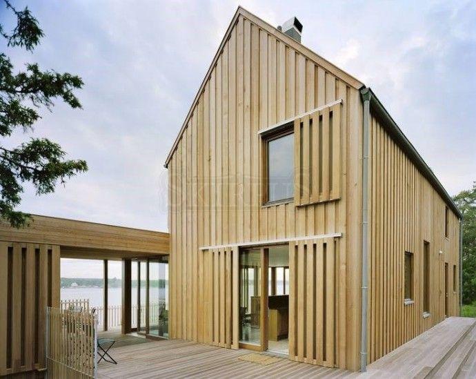 Skirpus holzschiebel den a r c h i t e c t u r e for Holzhaus architektur