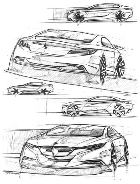 Pinterest dessin voiture voiture - Croquis voiture ...