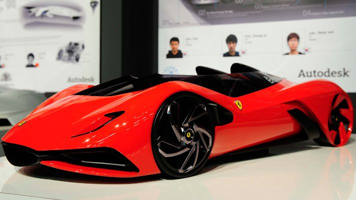 Eternit Ferrari, la Ferrari du futur. - Paperblog