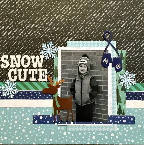 Snow Cute **My Creative Scrapbook** - Scrapbook.com