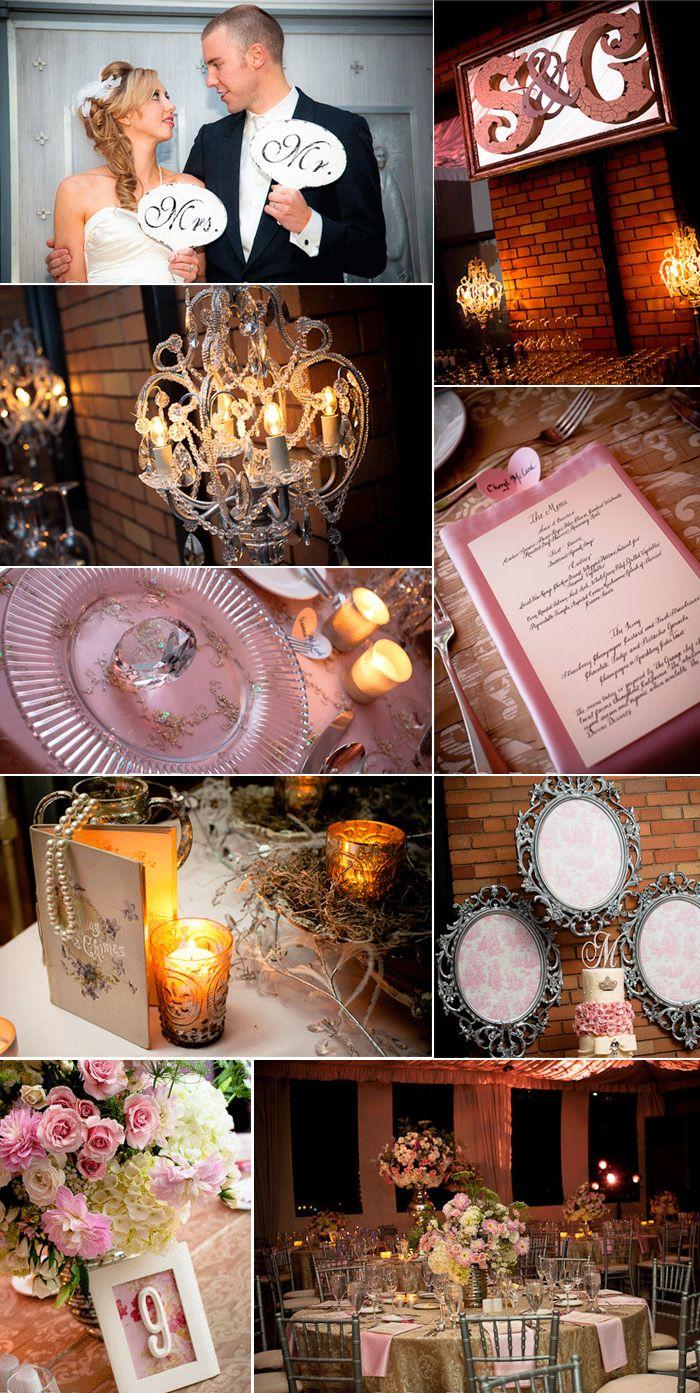 wedding receptions sacramento ca%0A Vintage Splendor at The Citizen Hotel  Sacramento  California created by  Tres Fabu Event Planning