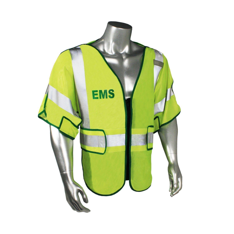 Radians LHV-PS3-DSZR-EMS EMS Safety Vest ANSI CL3