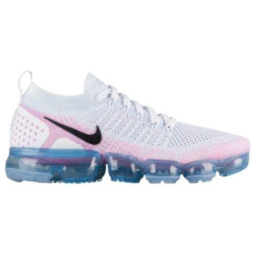 157c8998902 Nike VaporMax Flyknit 2 White Black Hydrogen Blue Pink Beam Igloo ...
