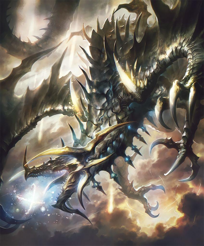 Lindworm Dragon: Dark Fantasy Art, Fantasy Creatures