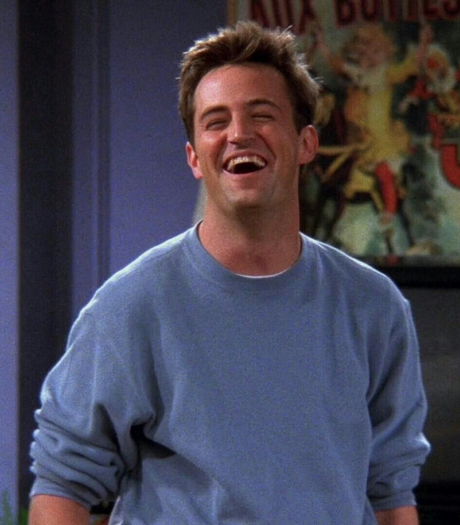 Matthew Perry Friends Monica Geller Chandler Bing Joey Tribbiani