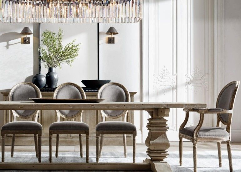 The Most Sophisticated Dining Room Furniture By Restoration Hardware ...