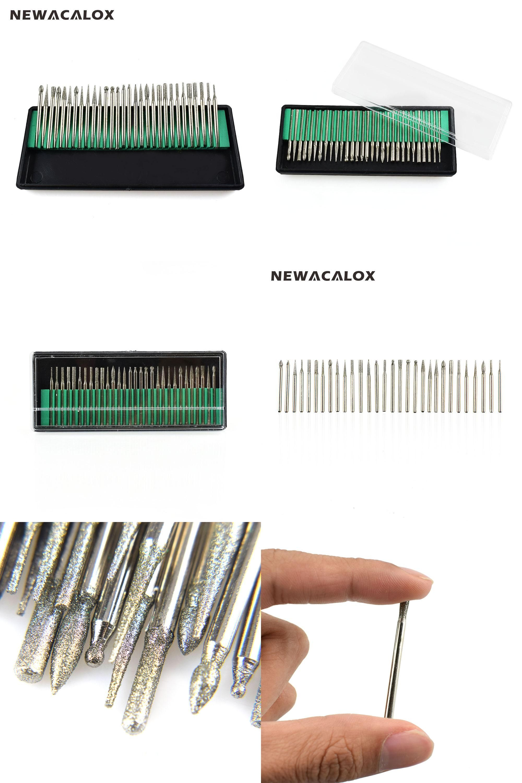 Visit to Buy] Micro Drills Bits Diamond Nail Drill Bit for Polisher ...