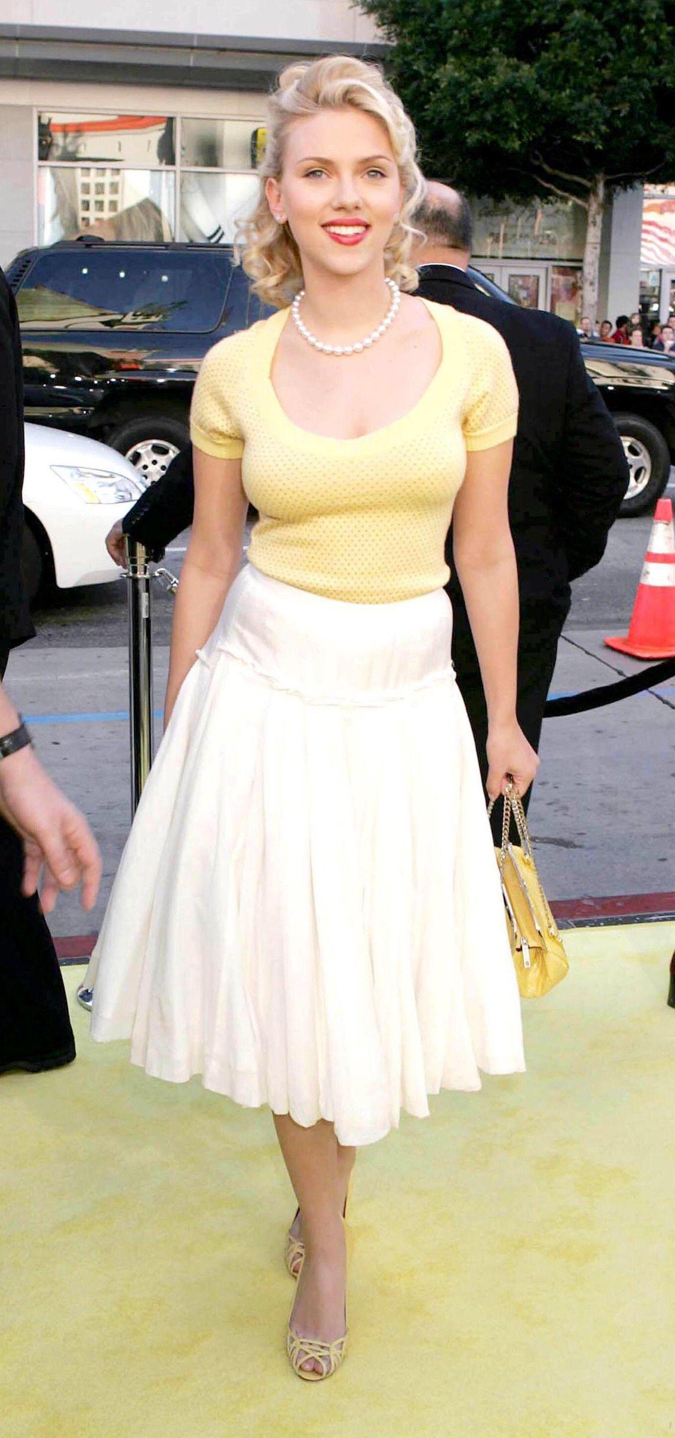Pin by World of Glamour on Scarlett Johansson   Fashion