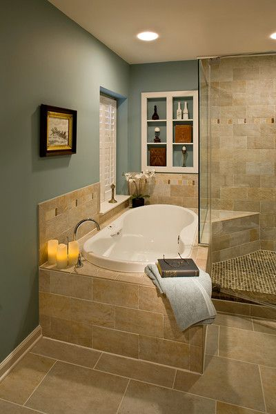 Need, want, must have!! Soaking tub for two Master Bathroom Ideas