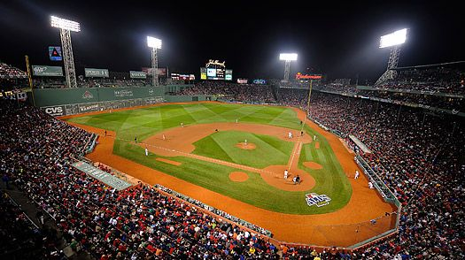 Baseball Fenway Park Boston MA