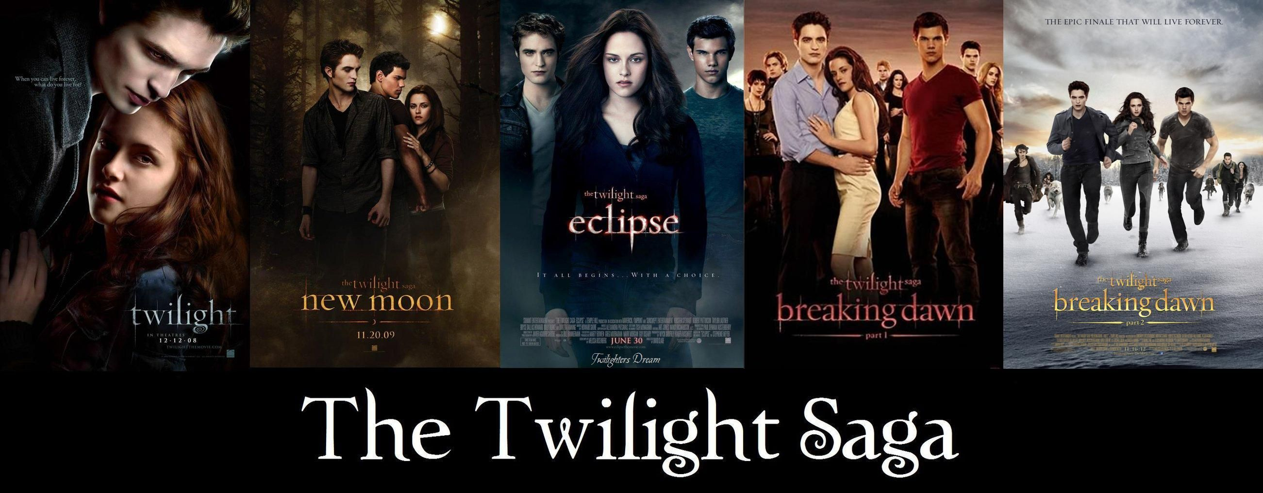 the twilight saga all 5 posters twilight pinterest