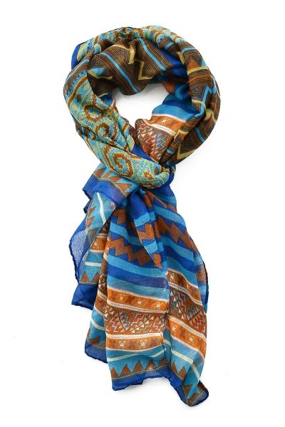 Tribal-Inspired Geo Pattern Scarves - OASAP.com Thanksgiving sale! Free shipping + $15 off coupon!