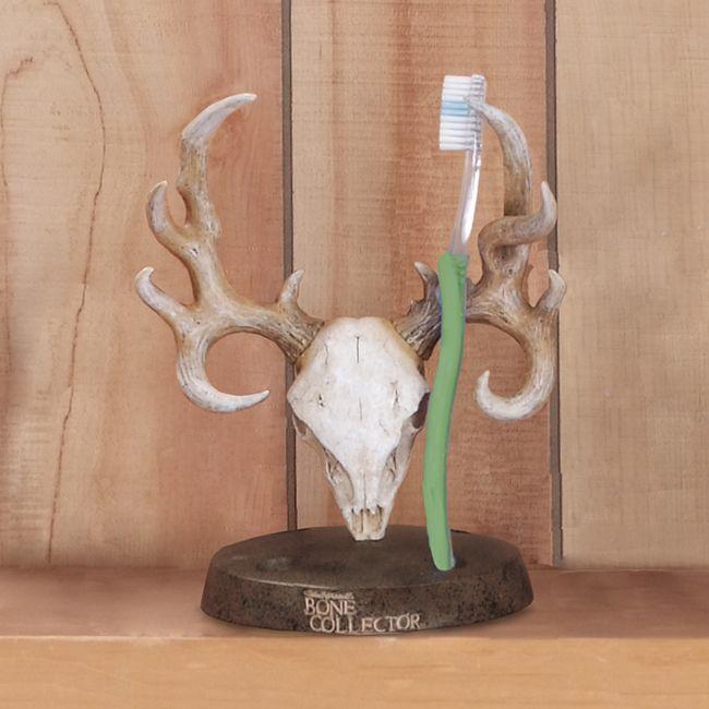 Bone Collector Toothbrush Holder Antler Bathroom Decor Bathroom