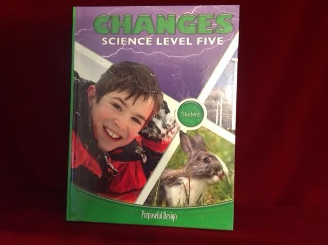 ACSI Purposeful Design Changes Science Grade 5 Student Bk, VG, Homeschool School #Textbook