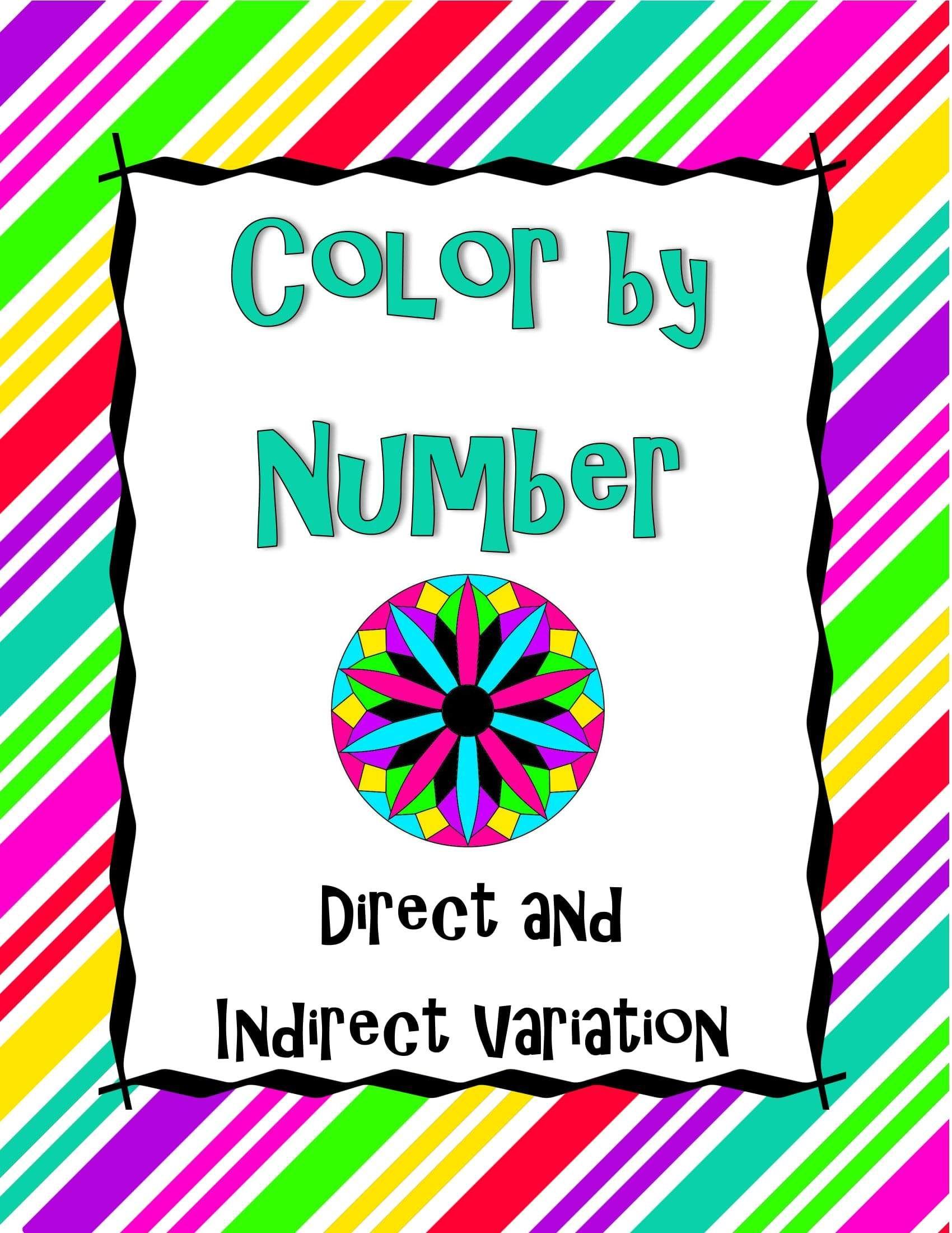 Geometry Skills Color By Number Bundle 1: 10 Essential ...