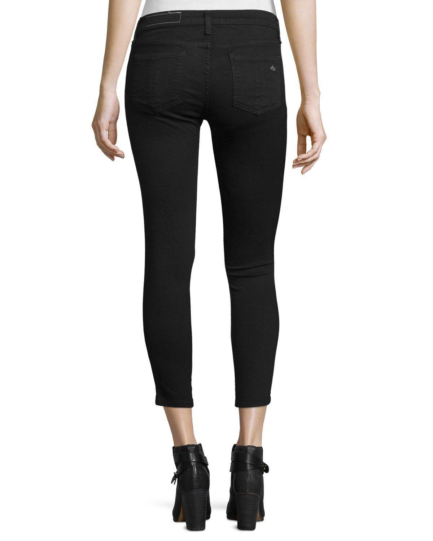 fa229621c64ba Rag   Bone Jean Nero Capri Denim Jeans