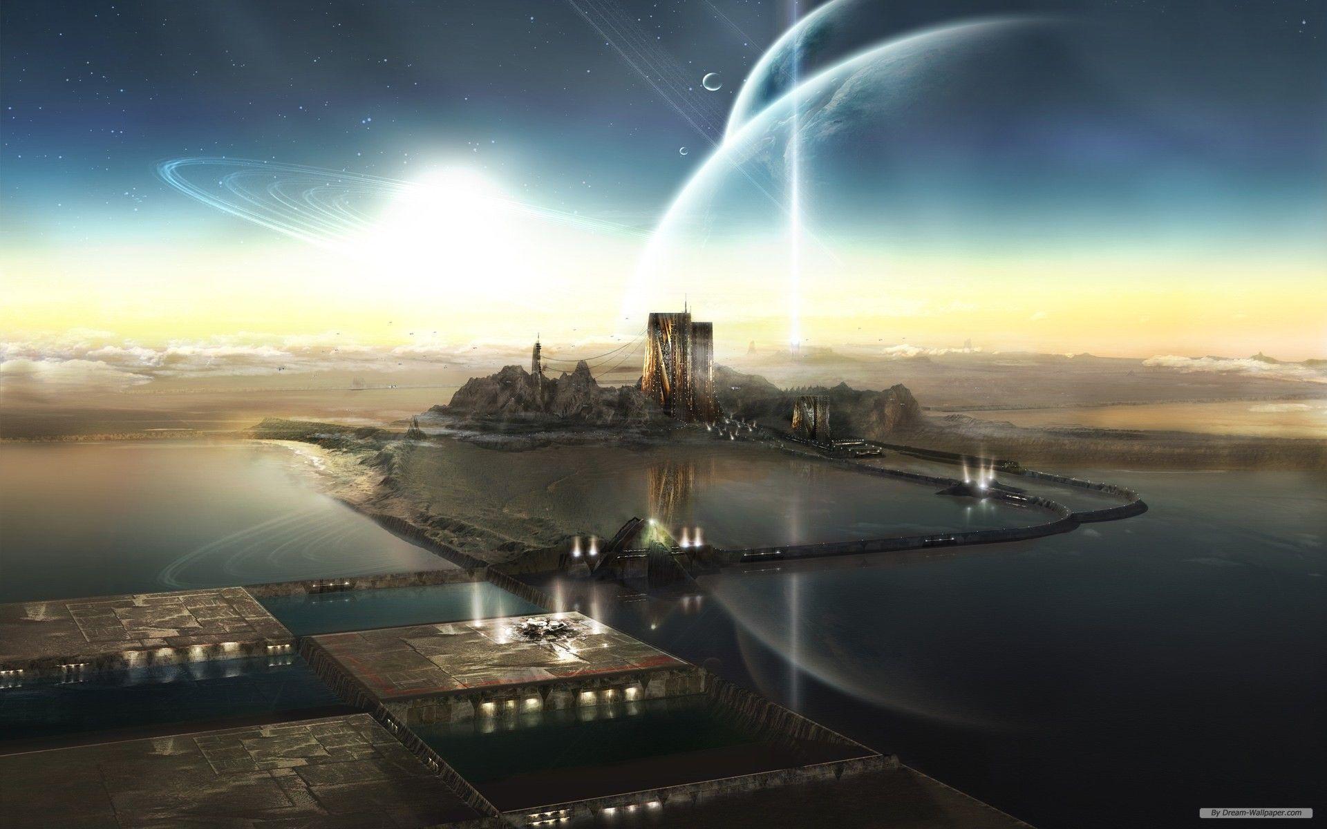 Sci Fi Wallpaper Image By Jerry Horton Jr On Beyond Future Wallpaper City Wallpaper