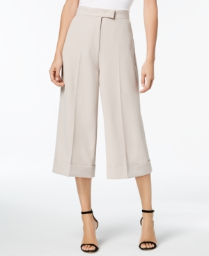 cb676a8e0e73a Anne Klein Culottes - Tan/Beige 2 | Products | Anne klein, Pants ...