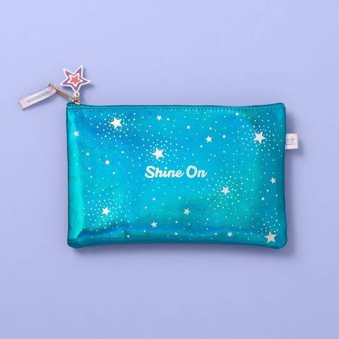 Iridescent Shine On Pencil Pouch More Than Magic Pencil Pouch