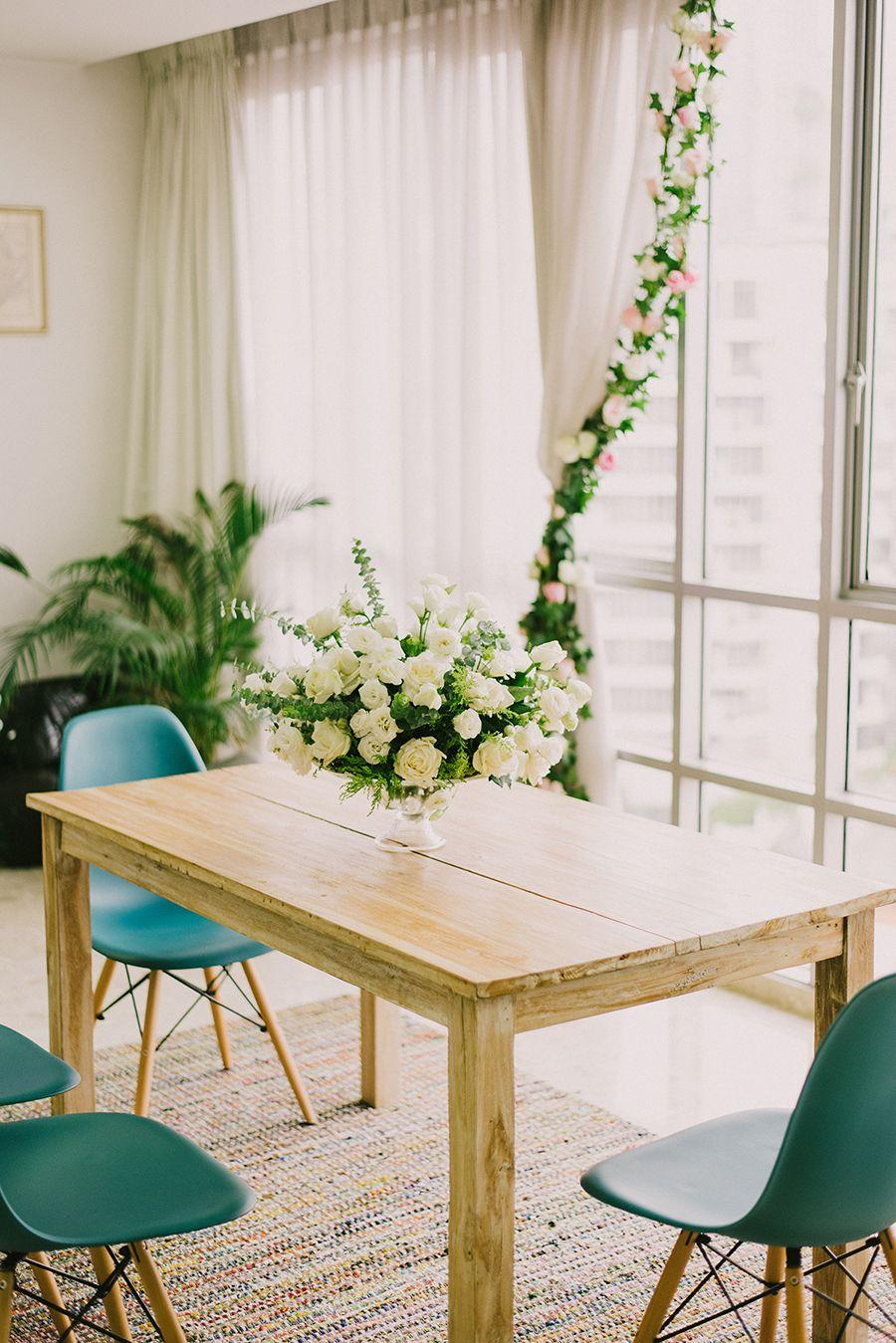 How to Plan an HDB or Condo Home Wedding | Reception, Creative ...