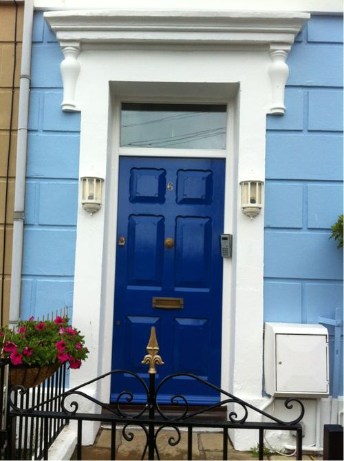 Amy Amp Rory Pond S House Front Door From Doctor Who Tardis