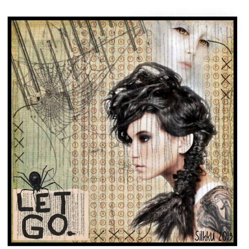 """Digital Art by *Silkku* """"Let go of the past"""" silkkus.blogspot.fi"""