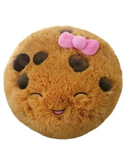 16 Inch Cookie Smiley Face Pillow