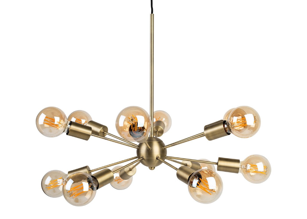 Mega Junction Chandelier 12 Arm Chandelier Chandelier Brass Pendant Light Arm Chandelier