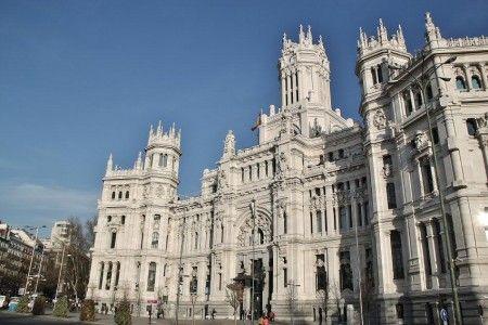 Palacio De Cibeles Actual Sede Del Ayuntamiento De Madrid