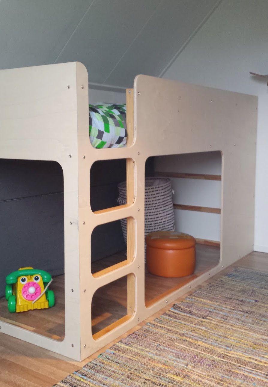 Kura loft bed ideas  mommo design  IKEA HACKS FOR KIDS  Kids  Pinterest  Ikea hack