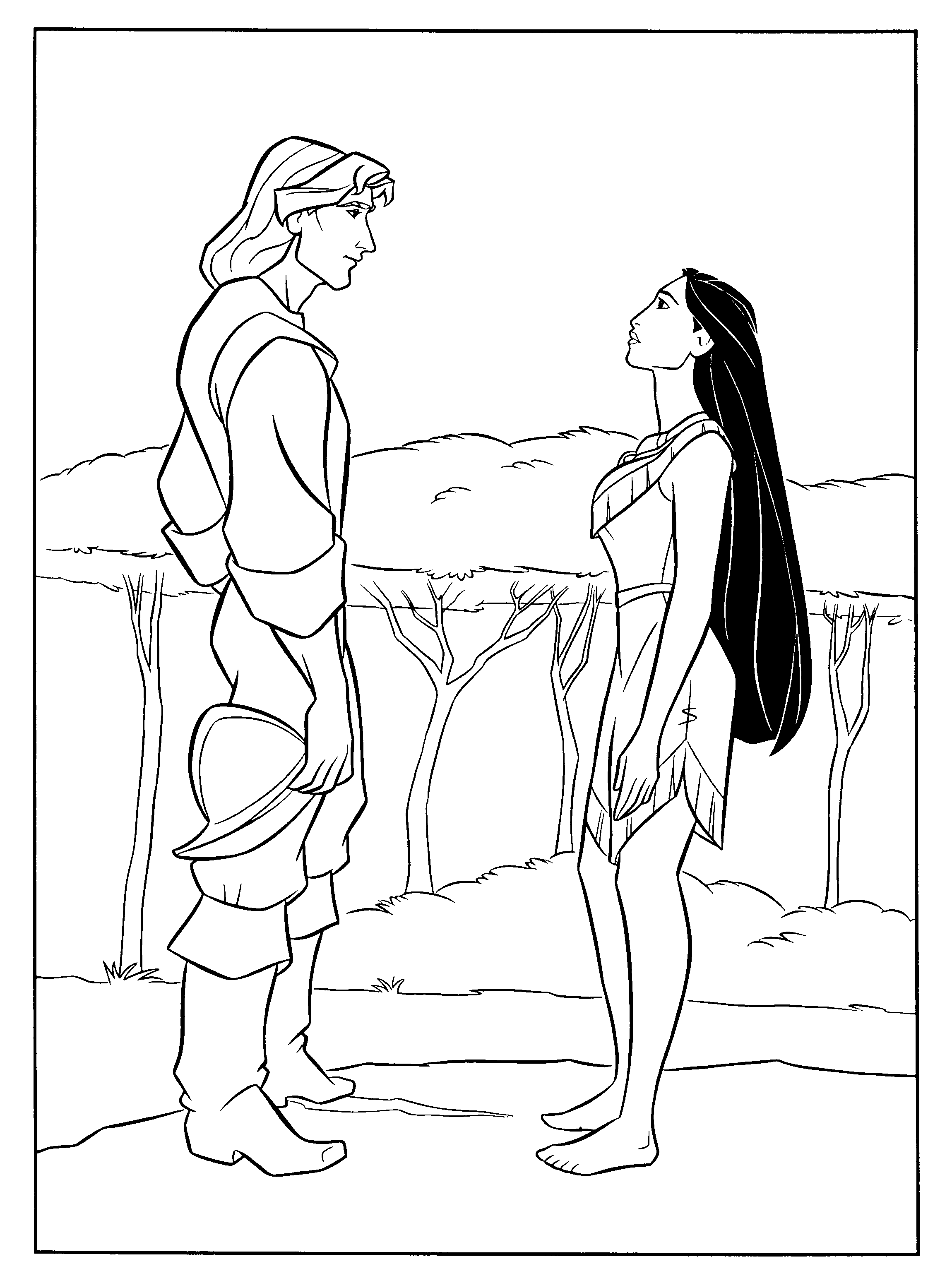 pocahontas coloring pages - Google-søgning | Coloring Pages ...