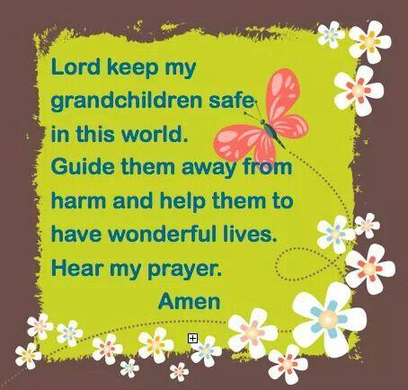 lord keep my grandson safe prayers
