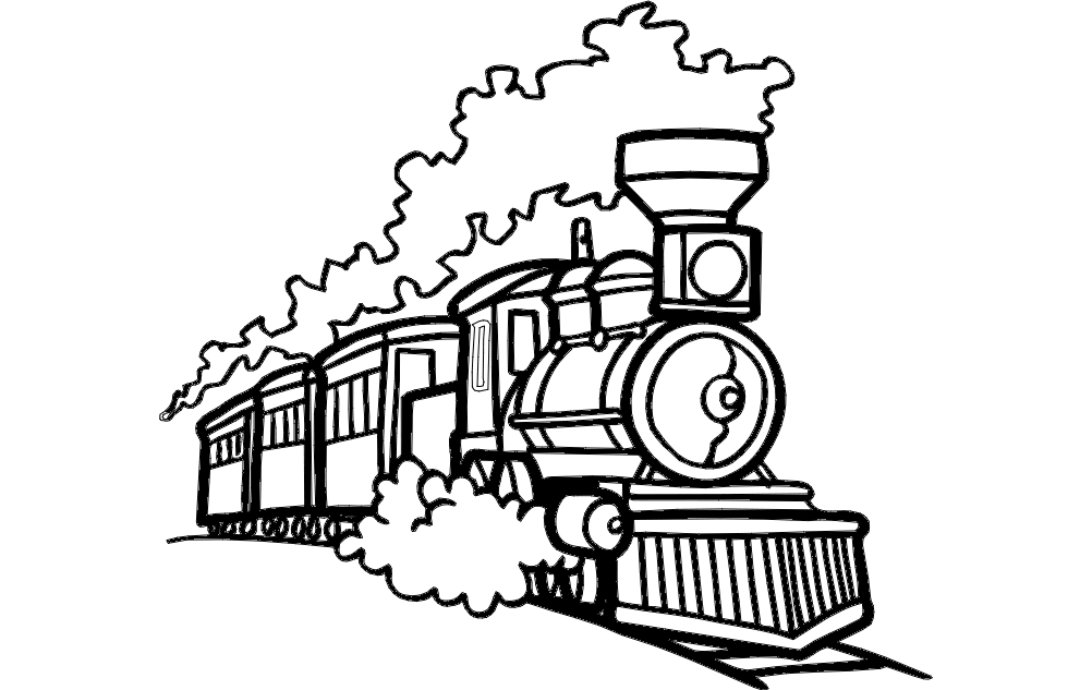 10+ Printable choo choo train coloring pages ideas