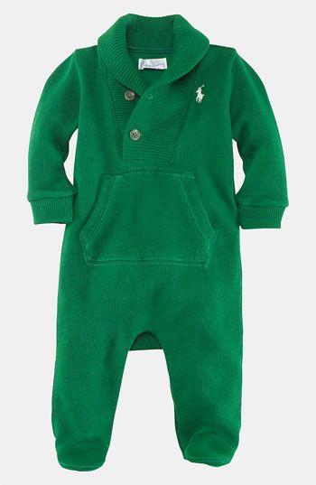 f9ec28a03201 Ralph Lauren Footie (Infant) available at  Nordstrom  39.50