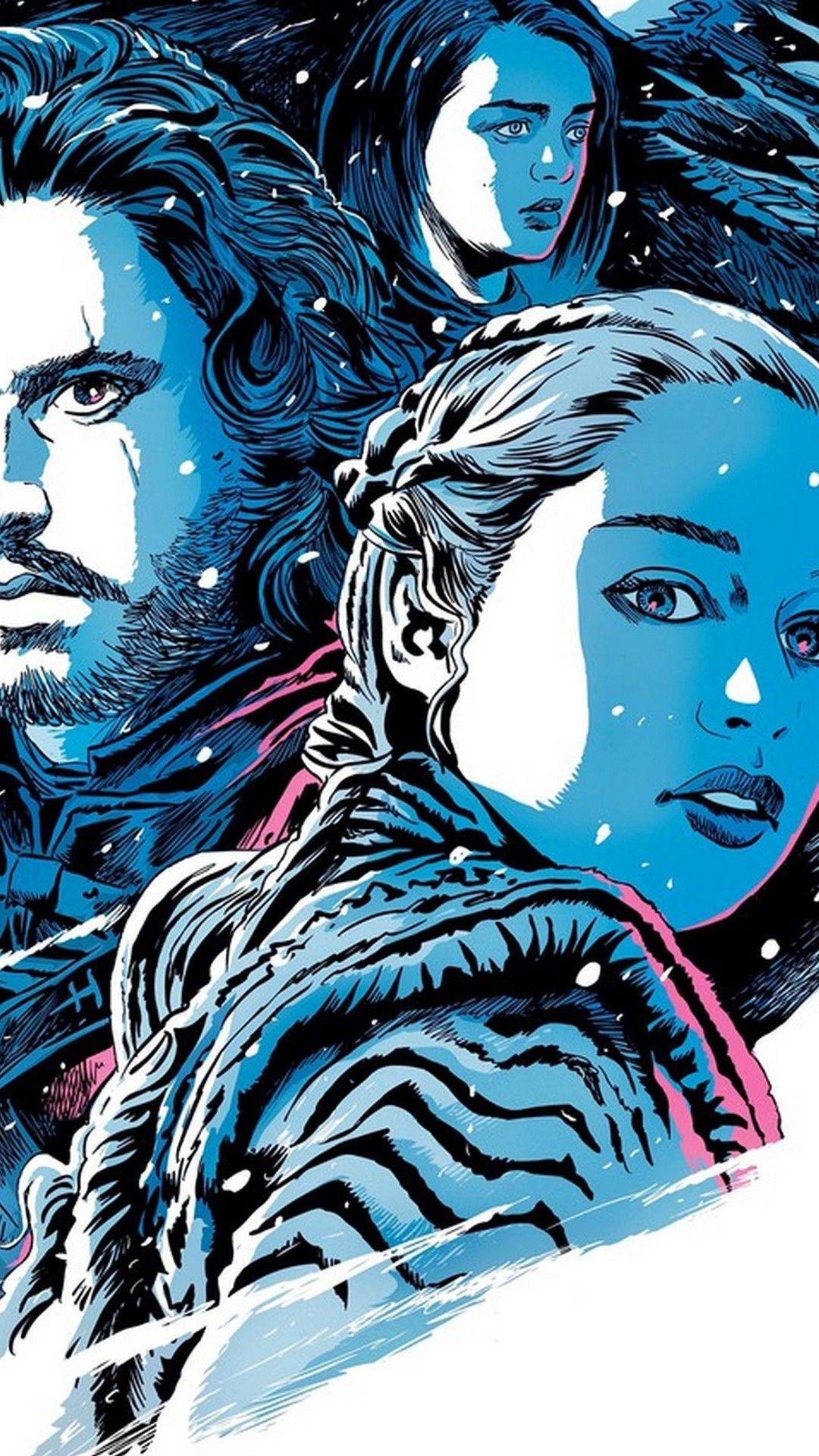 Game of Thrones 8 Season iPhone 7 Wallpaper Iphone 7