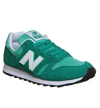 New Balance Wl373 Frozen Yogurt Green White - Office Shoes