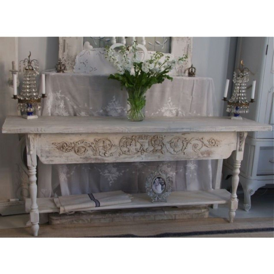 Tab bespoke limewash console server table things i like and